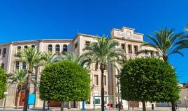 广场de toros,斗牛竞技场在阿利坎特,西班牙 免版税图库摄影