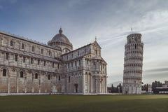 广场dei miracoli视图 库存图片