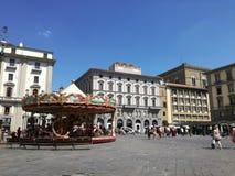 广场della Repubblica佛罗伦萨 免版税库存图片