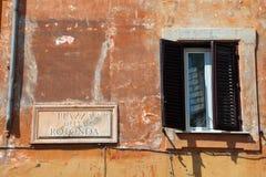 广场della Rotonda 免版税库存照片