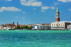 广场Sant。马尔科, Venize,意大利 免版税库存照片