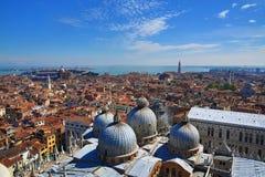 广场Sant。马尔科, Venize,意大利 免版税库存图片