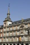 广场Square市长。马德里。西班牙。 库存图片