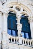 广场Unitàd意大利在的里雅斯特 图库摄影