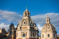 广场Venezia -令人惊讶的罗马,意大利 图库摄影