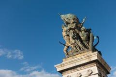 广场Venezia -令人惊讶的罗马,意大利 免版税库存照片