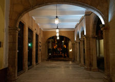 广场Vieja在哈瓦那旧城,古巴 图库摄影