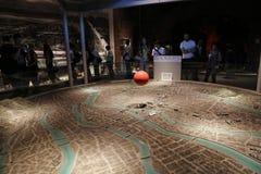 广岛博物馆在广岛,日本 库存图片