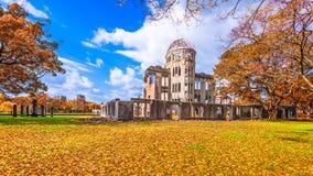 广岛原子圆顶 库存图片
