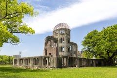 广岛原子弹圆顶公园在日本亚洲 库存图片
