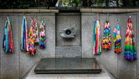 广岛和长崎,原子弹纪念品-东京,日本火焰  免版税库存图片