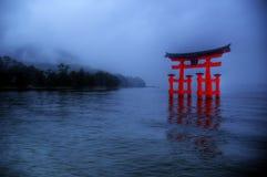 广岛宫岛 库存图片