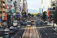 广岛市,日本 库存图片