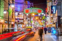 广岛日本夜生活 图库摄影