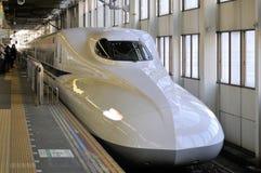 广岛Shinkansen岗位 免版税库存照片