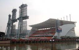 广州体育场 图库摄影