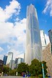 广州周大福金融中心2 免版税库存照片