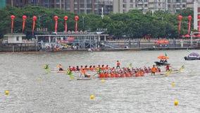 2015年广州国际龙舟种族3 库存图片