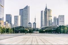 广州市地平线 库存图片