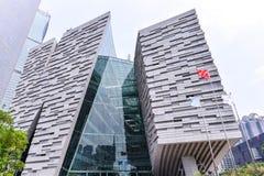 广州新的图书馆风景 图库摄影
