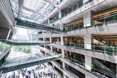 广州新的图书馆风景 库存照片