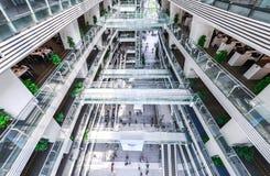 广州新的图书馆风景 库存图片