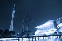 广州新的塔电视 库存图片