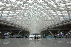 广州新的火车站 库存照片