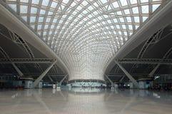 广州新的火车站 库存图片