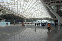 广州新的火车站 免版税库存图片