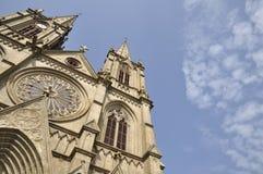 广州神圣的重点教会 免版税库存图片