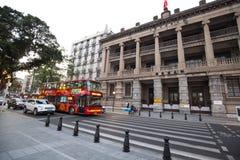 广州邮政博物馆是在广州瓷的一个历史建筑 库存图片