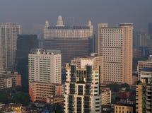 广州都市地平线 库存照片