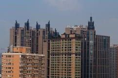 广州都市地平线 免版税库存图片