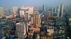 广州都市地平线 免版税库存照片