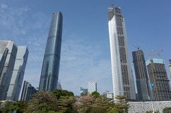 广州CBD 库存照片