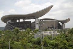 广西体育中心在中国 图库摄影