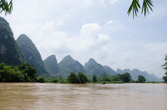 广西,省,中国 免版税图库摄影