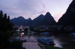广西,省,中国 免版税库存照片