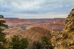 庄严大峡谷,亚利桑那,美国 库存照片