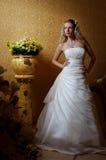 庄严的新娘 免版税库存图片