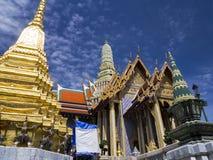 庄严盛大宫殿在曼谷 库存照片