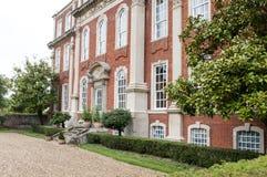 庄严英王乔治一世至三世时期豪宅 免版税库存照片