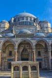 庄严Suleiman清真寺的看法在伊斯坦布尔,土耳其 图库摄影