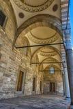 庄严Suleiman清真寺的看法在伊斯坦布尔,土耳其 免版税图库摄影