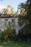 庄园住宅的废墟 图库摄影