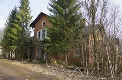 庄园住宅Dashkovs在Nadbele Luga区,列宁格勒地区 库存图片