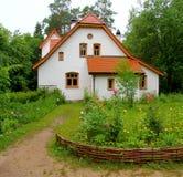 庄园住宅Polenovo 免版税图库摄影