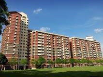庄园住房公共新加坡 免版税库存照片