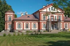 庄园在Alanta,立陶宛 免版税库存照片